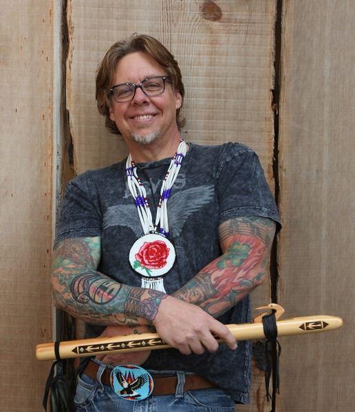 Jan Looking Wolf Reibach on ReverbNation - Native Flute artist