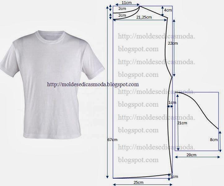 Resultado de imagen para patrones de tshirt