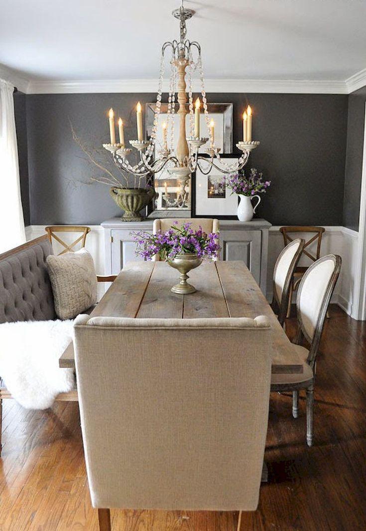 Nice 90 Amazing Small Dining Room Decor