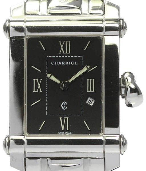 Philippe Charriol Columbus CCSTRH8 Stainless Steel 25mm Mens Watch