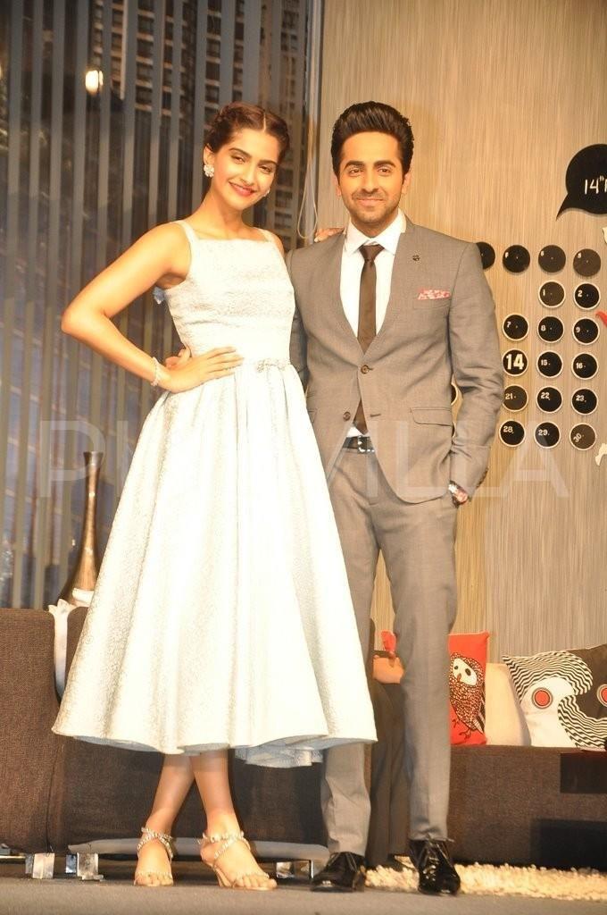 Sonam Kapoor and Ayushmann Khurrana promote Bewakoofiyan