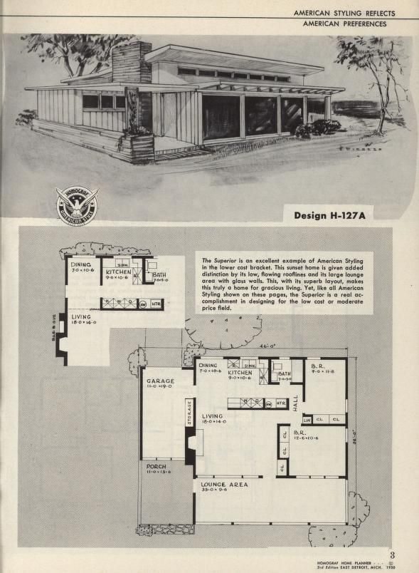 138 best wee vintage images on pinterest floor plans house new revised enlarged home planner series 3 72 malvernweather Gallery