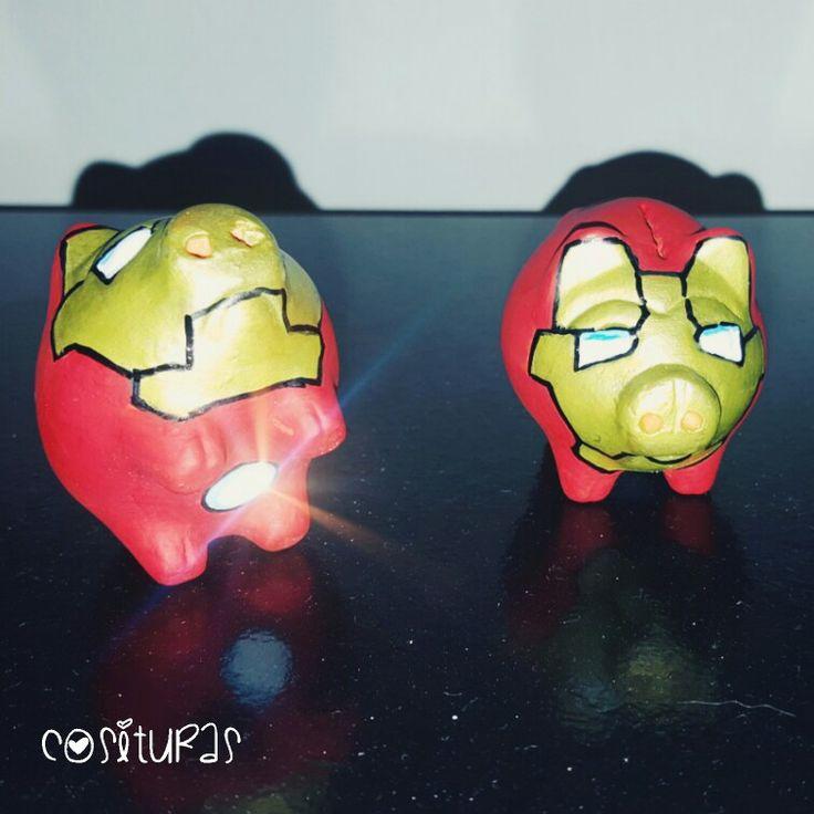 Puerquito Iron Man #puerquitohero