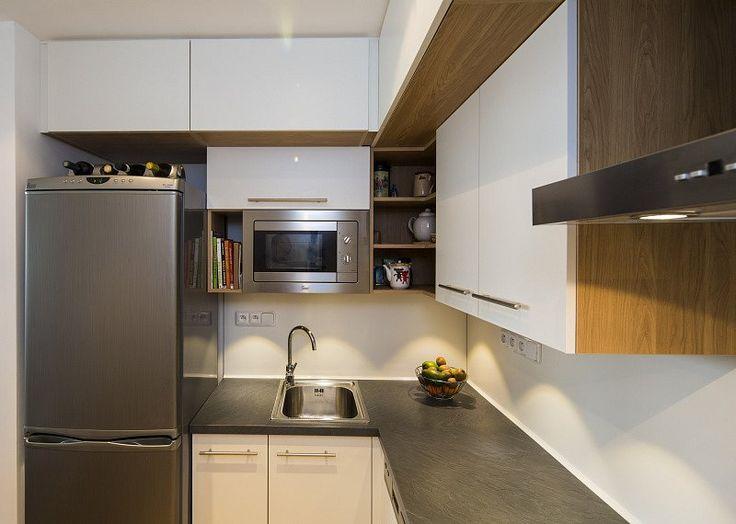 malá kuchyň - Kuchyně na míru - kuchyňské linky – fotogalerie