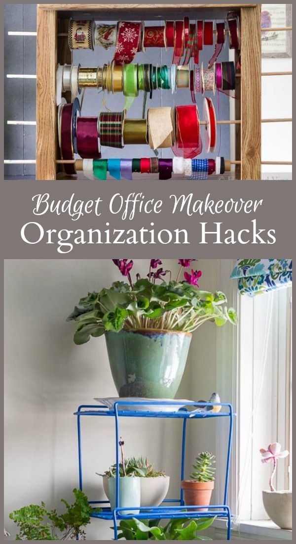 organization hacks for your home office on a budget organizations