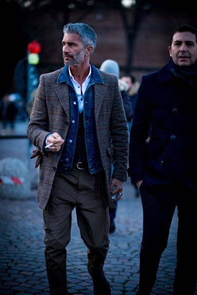 The strongest street style at Pitti Uomo AW17