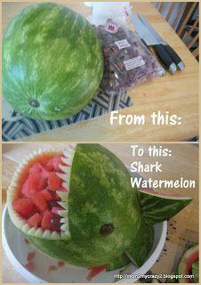 cute shark party ideas