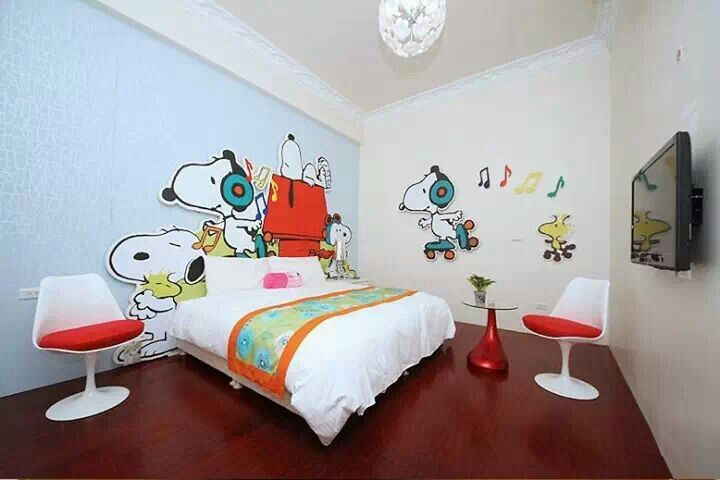 Snoopy Bedroom. Needs More Decorations. | Snoopy And The Rest | Pinterest |  Snoopy, Bedrooms And Peanuts Gang