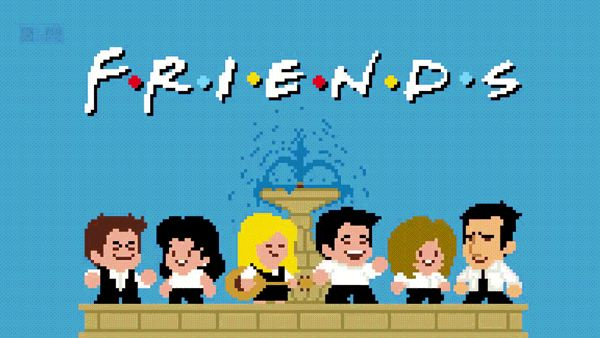 #Сериал #Друзья ушел в 8 #бит  #Рейчел #Моника #Чендлер #Джоуи #Росс #Фиби #Энистон #Кокс #Перри #Леблан #Геллер #Швиммер #Кудроу #приставка #dendy #friends #вебмаркетинг