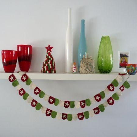 Christmas bunting - Image Christmas Garland CHRISTMAS IN #HTFSTYLE