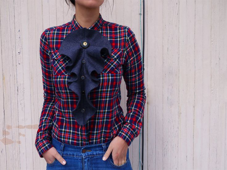 Modernish jabot... diy