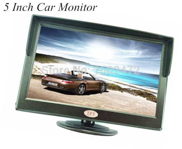 43.98$  Watch now - http://aiik1.worlditems.win/all/product.php?id=32257783868 - HD 5 Inch 800x480 Reversing CCTV Monitor For  Rear View System