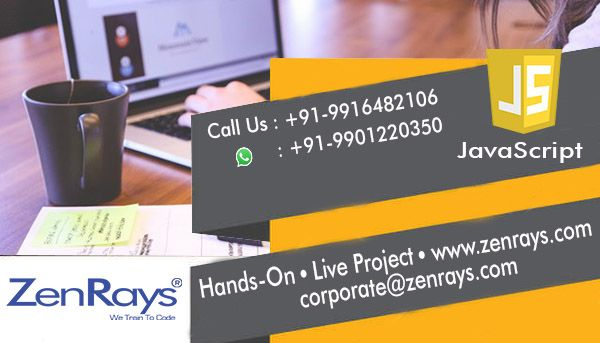 Best JavaScript Training in Bangalore. We offer the best JavaScript Training in Bangalore.  Hands-on Training and work on JavaScript Live Project in Bangalore. We have JavaScript Training in BTM Layout and Koramangala.  Call +91 9916482106, WhatsApp +91 9901220350, Write to corporate@zenrays.com.  Check out course contents at http://zenrays.com/oops-javascript-training