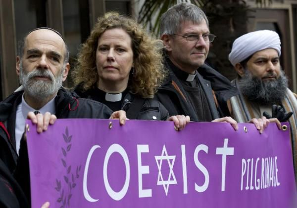 "Christians, Jews and Muslims from all walks of British life made a pilgrimage through central London on Thursday, in a show of unity against the hatred that drove recent attacks in France and Denmark. ""The terrorists hope to divide us but these atrocities are uniting us,"" Sheikh Khalifa Ezzat, chief imam at London Central Mosque, told AFP. The violence -- it was an assault on freedom, on the sanctity of life and it's an assault on Judaism, which again we saw in Copenhagen,"" said Jonathan ..."