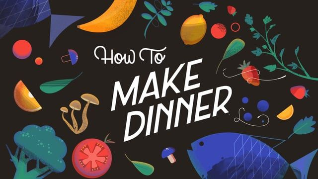 Super excited to share a little personal project I dreamed up about makin' dinner. This video wouldn't be possible without the always-wonderful Emily Rasmussen and Dylan Casano!    Credits:  Direction / Illustration: Naomi Bensen  Animation: Dylan Casano  Lettering: Emily Rasmussen   Music: Ryan Taubert