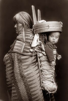 Navajo woman and child, 1914