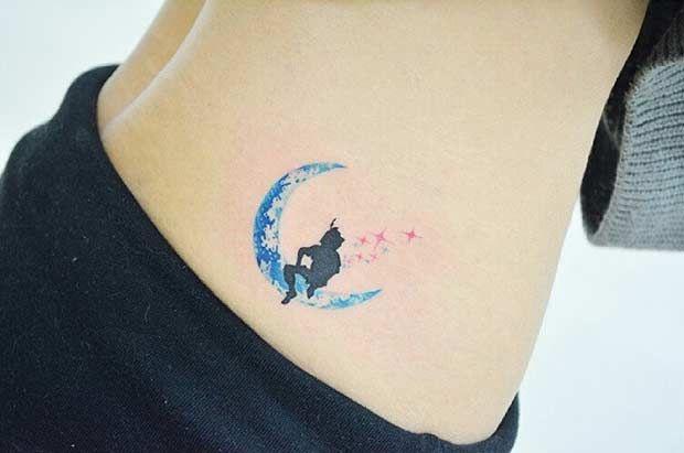 Small Disney Peter Pan Tattoo