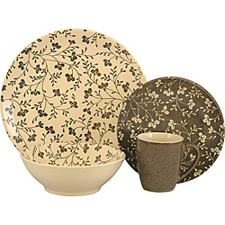 @Overstock - A soft retro floral design highlights this lovely Sango dinnerware set. This 16-piece set is both microwave and dishwasher safe.http://www.overstock.com/Home-Garden/Sango-Fresh-Flowers-Black-16-piece-Dinnerware-Set/6038859/product.html?CID=214117 CAD              67.92