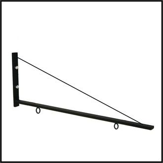 """36"""" Light Duty Triangle Sign Bracket---for the bells?"""