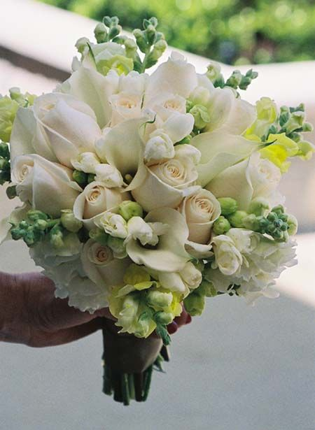 Ivory Rose And Snapdragon Bouquet Really Want To