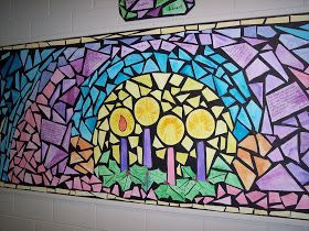 COOL BOARDS: Stained Glass - Advent