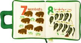 Soft Book - My Australia How to Count  #entropywishlist #pintowin  We are going to the UK after Christmas to visit family and this would help entertain little miss on the long journey.
