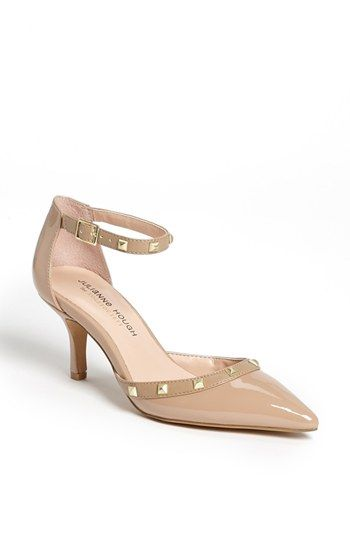 Everyone loves Valentino's Rockstud kitten heels, but not so much the $945 cost that comes with them. These heels—available in black, too—are reminiscent of the style at a fraction of the price; $60.