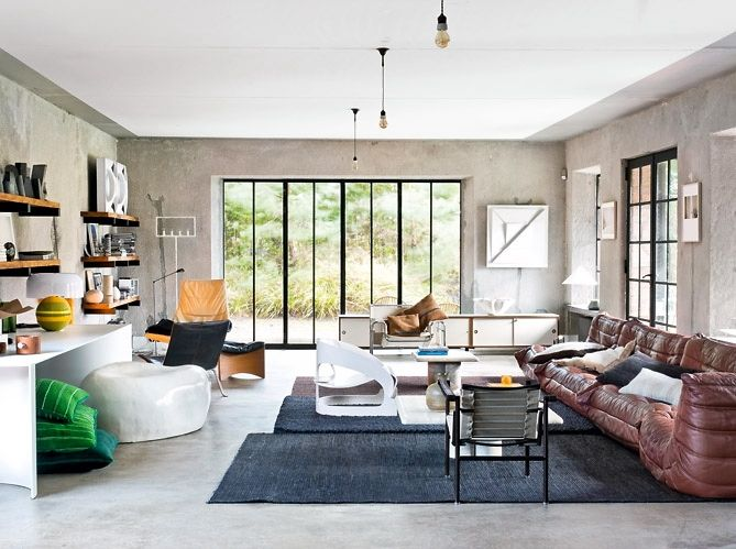 Maison & Déco/Une villa esprit loft en Belgique