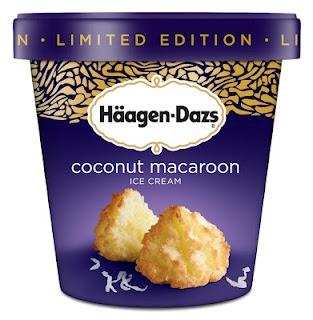 Haagen Dazs Vanilla Ice Cream Sandwich Coconut Macaroons Bizarre Foods