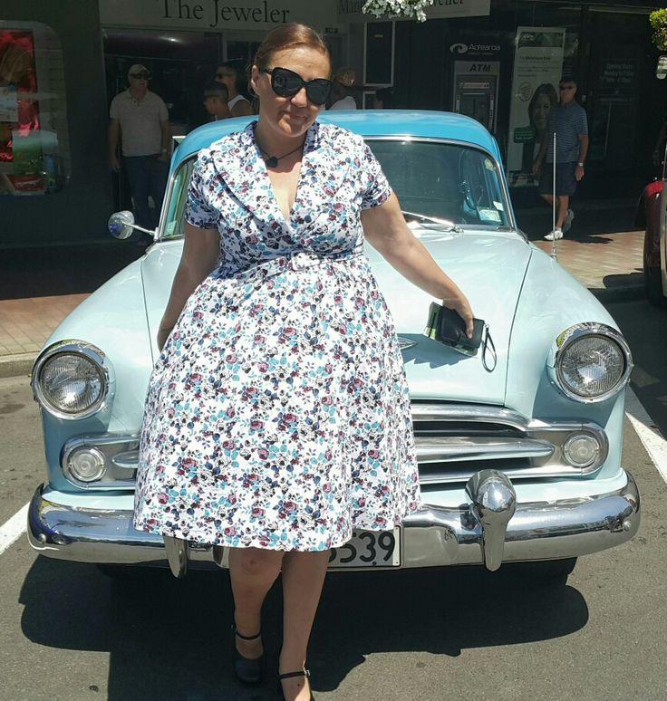#wanganuivintageweekend #LindyBopLove #carmatchesdress