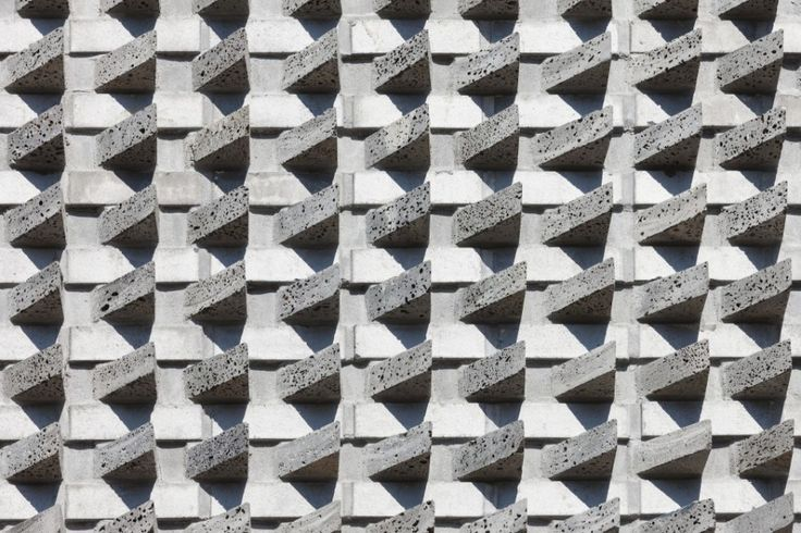 #Architecture Sharp Grey Stony Wall Structure Concrete Pattern Of Contemporary Basalt Brick House Sustainably Builtin South Korea Foxy Modern Basalt-Brick House Sustainably Built in South Korea by JOHO Architecture
