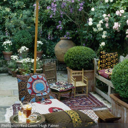 62 besten wohnen im ethno stil bilder auf pinterest. Black Bedroom Furniture Sets. Home Design Ideas
