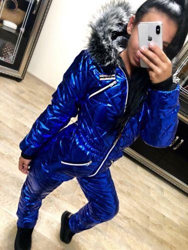 43e1a075b0 Women Winter Jumpsuit Waterproof Ski Snow Suit Outdoor Sport Overall One  Piece F