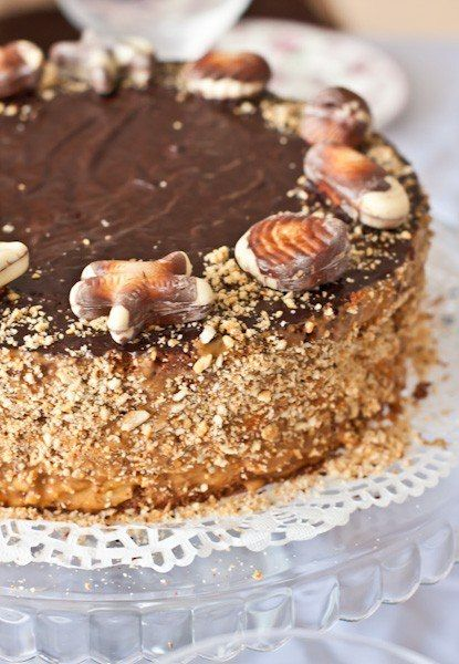 Торт Сникерс / Женское счастье!