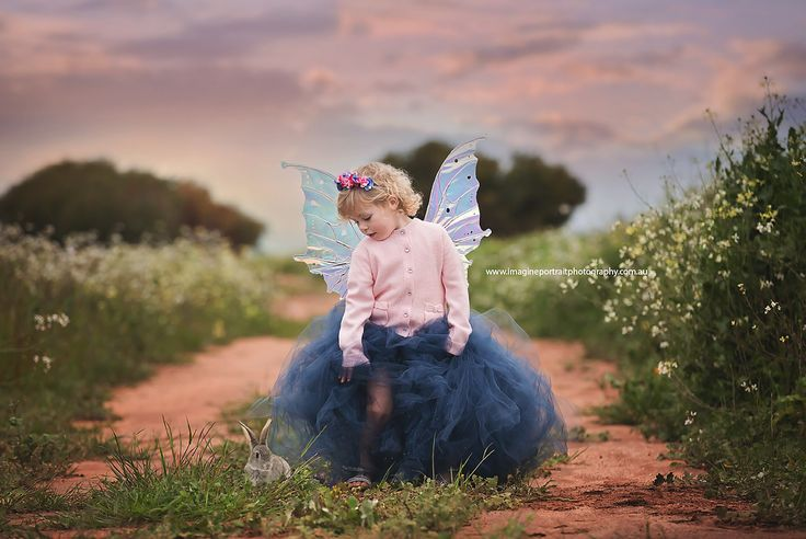 Portrait of a child fairy www.imagineportraitphotography.com.au