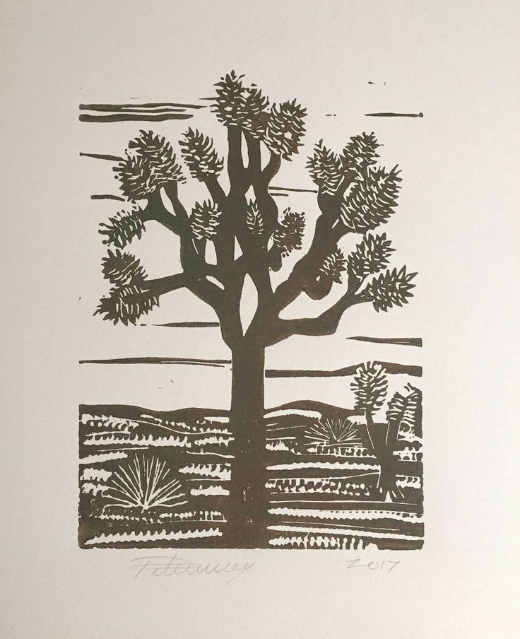 Muddy Brown Green Joshua Tree by PaulaTiberius on Etsy https://www.etsy.com/listing/556839333/muddy-brown-green-joshua-tree