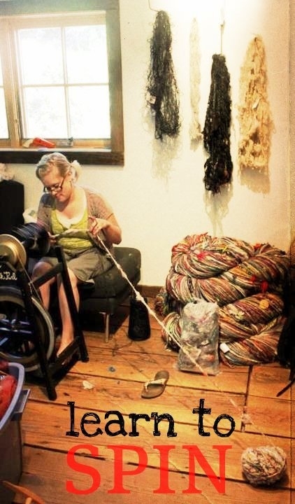 Learn how to Spin Yarn - Online Class via Webcam by Neauveau Fiber Art and Handspun Yarn Shop