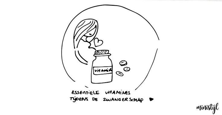 Essentiële vitamines en mineralen tijdens de zwangerschap