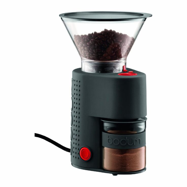 Infinity Conical Burr Grinder Coffee Maker Parts Bean Electric in Black