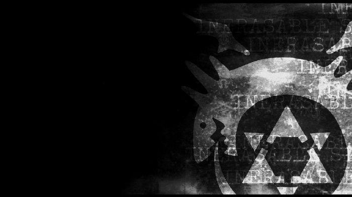 Ouroboros Full Metal Alchemist Anime Wallpaper Fundo Preto E Branco Papeis De Parede De Alta Qualidade Papel De Parede Anime