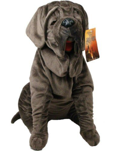 Stuffed Harry Potter Plush Toys - Hagrid's dog Fang