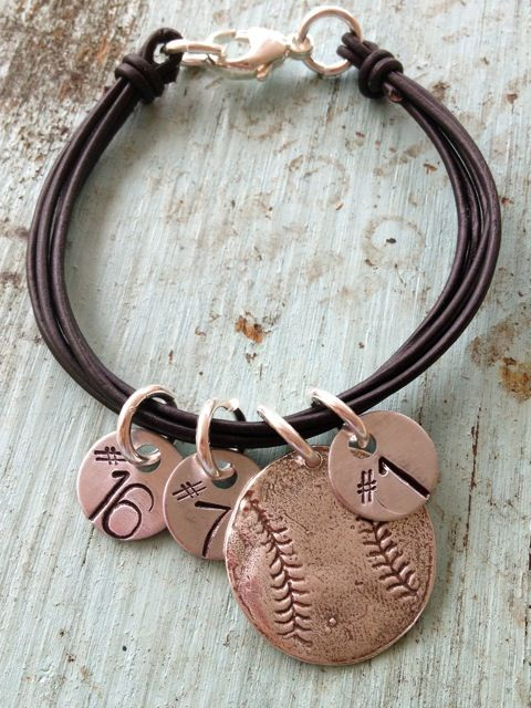 would stamped hand Ba    rings and soccer softball   bracelet numbers   cute charm Hand girls      Stamped  the sports be   mens tag for baseball for Bracelets jordan sale   Charm
