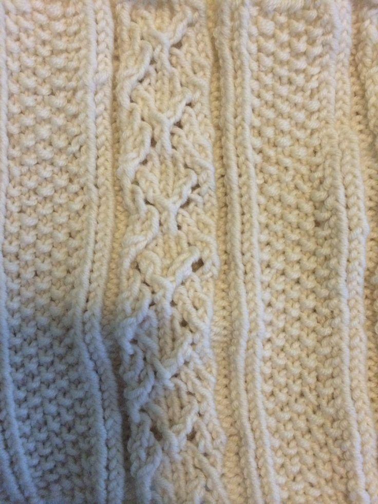 Lace knitting pattern :)