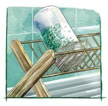 Avec un simple bocal en verre et un carré de mousseline, vous pouvez réaliser très facilement un germoir.