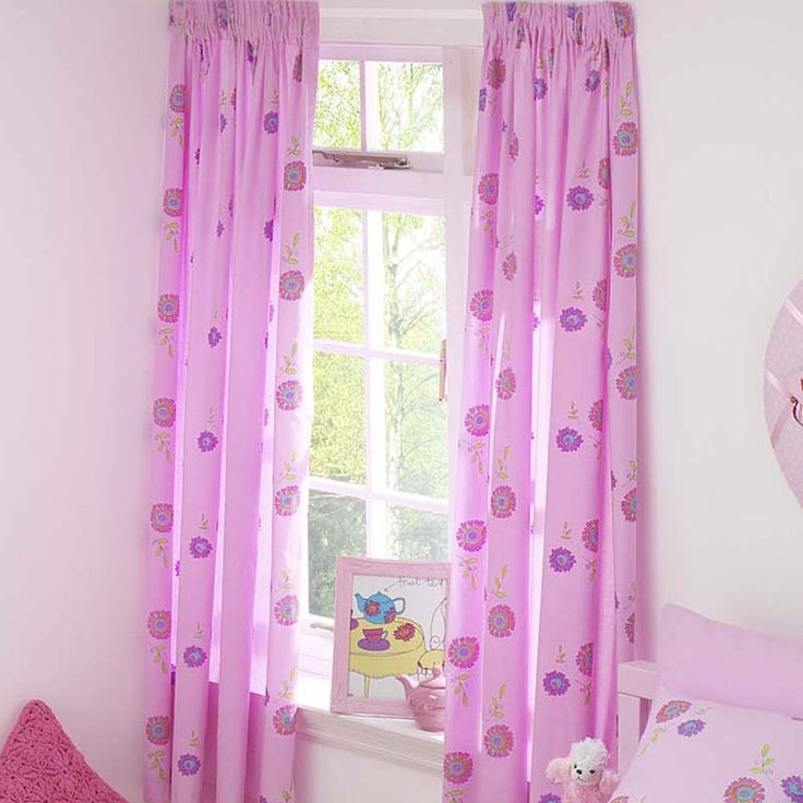 Girls Pink Curtains For Bedroom The Best Home Decor