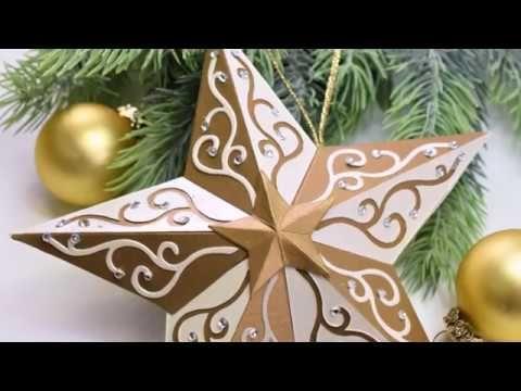 www.krokihobby.hu - Karácsonyi csillag  Sizzix 662285