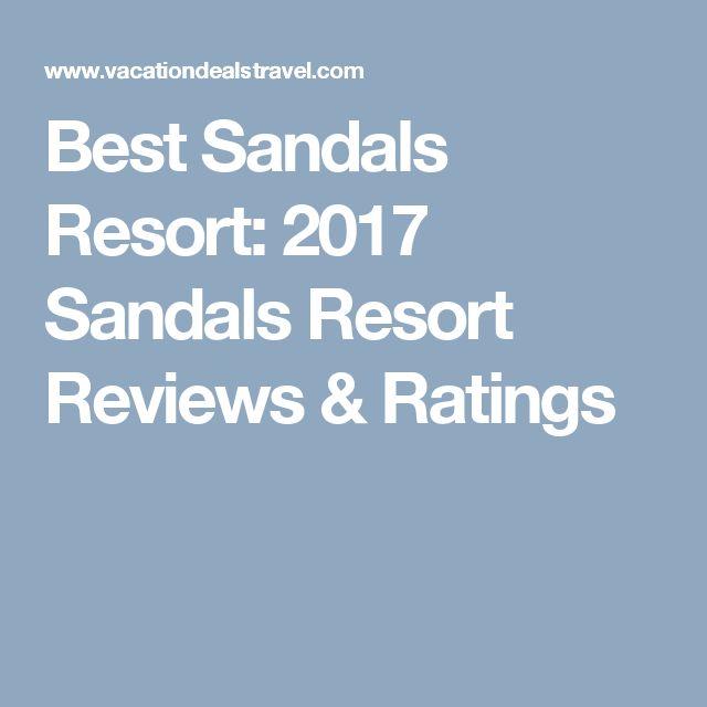 Best Sandals Resort 2017 Reviews Ratings