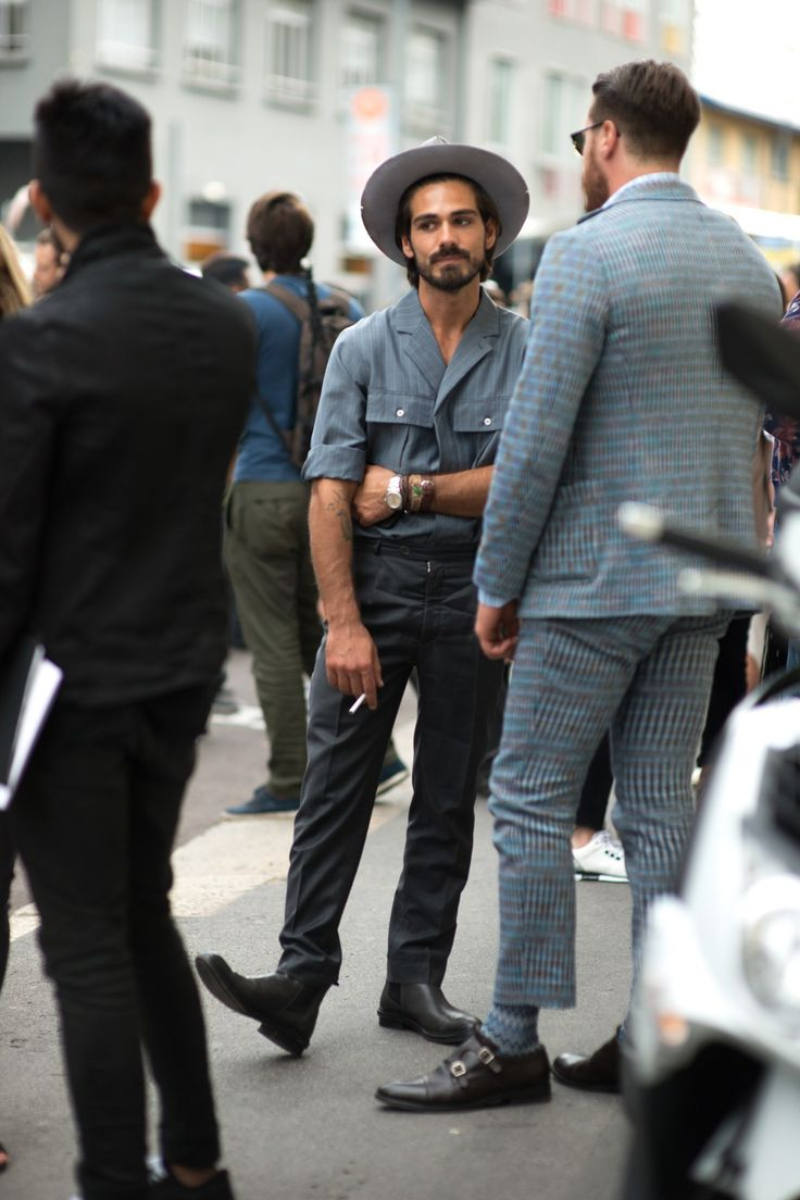 Street Style At Milan Fashion Week S S 39 16 Boys In Better Clothes Pinterest