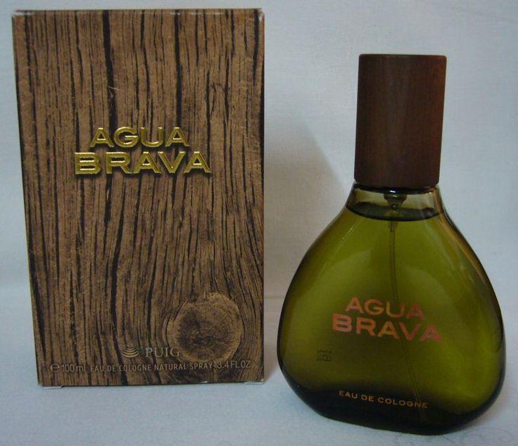 Vintage puig aqua brava bottle