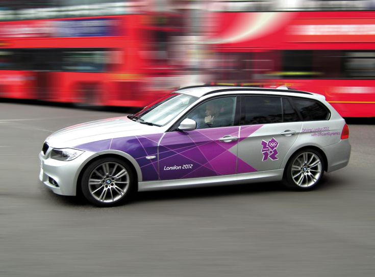 shard designed official London Olympic BMW